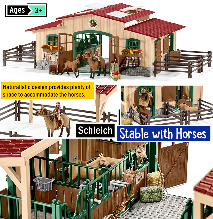 Best horse toys for kids. Children's horse toys. Best horse toy set.